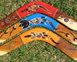 アボリジニ 狩り ブーメラン