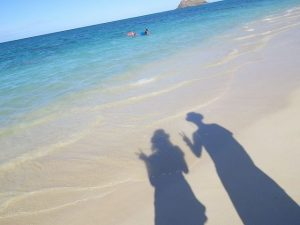 海 写真 ポーズ