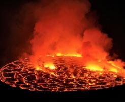 溶岩 温度